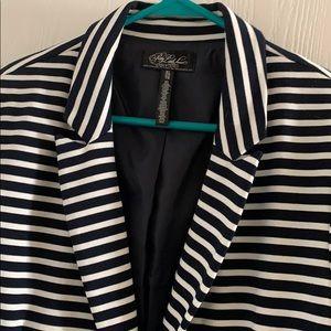 Aeropostale Jackets & Coats - Aeropostale Pretty Little Liars Navy/White blazer